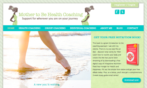 Mother to be Health Coaching