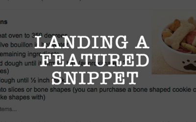 How Can I Get A Featured Snippet Box In Google