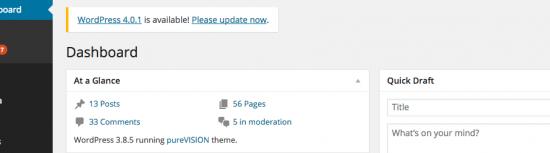 Upgrading WordPress Version To Keep Site Secure