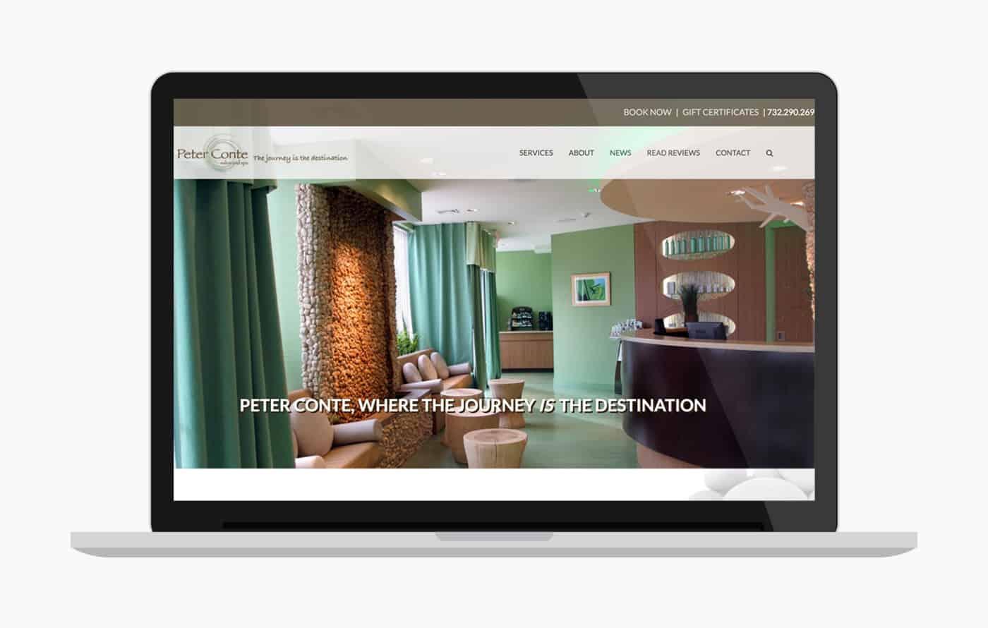 Hair Salon Website Design - Peter Conte