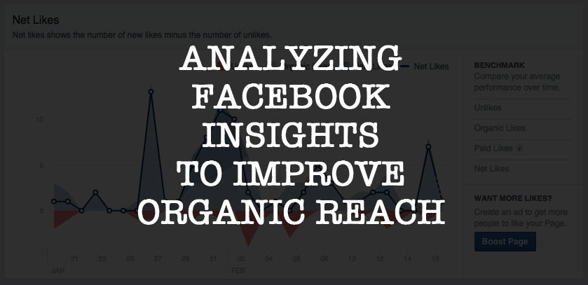 Analyzing Facebook Insights To Improve Organic Reach