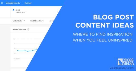 Blog Post Content Ideas