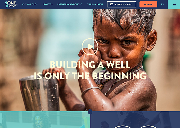 2016 Best Non Profit Websites