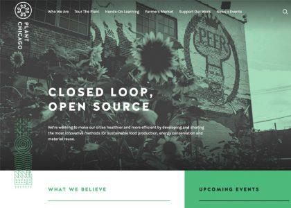 Best Nonprofit Website Design - Plant Chicago