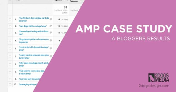 amp case study results