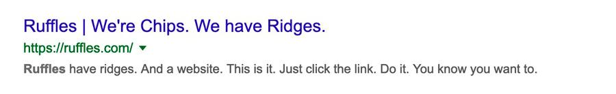 Ruffles Has a Funny Description