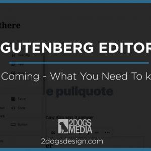 Get Ready for Gutenberg in Wordpress