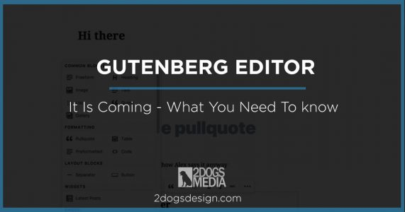 Get Ready for Gutenberg in Wordpress
