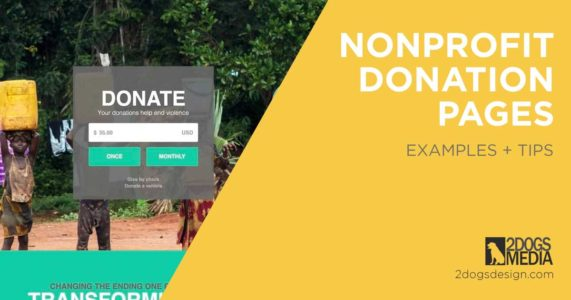 best donation page examples