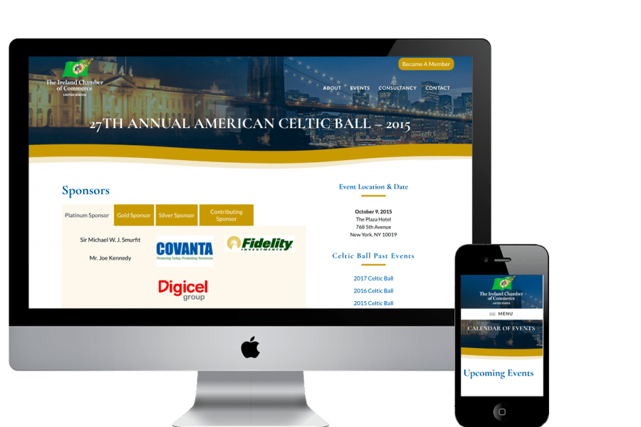 ICC USA WordPress Website Redesign