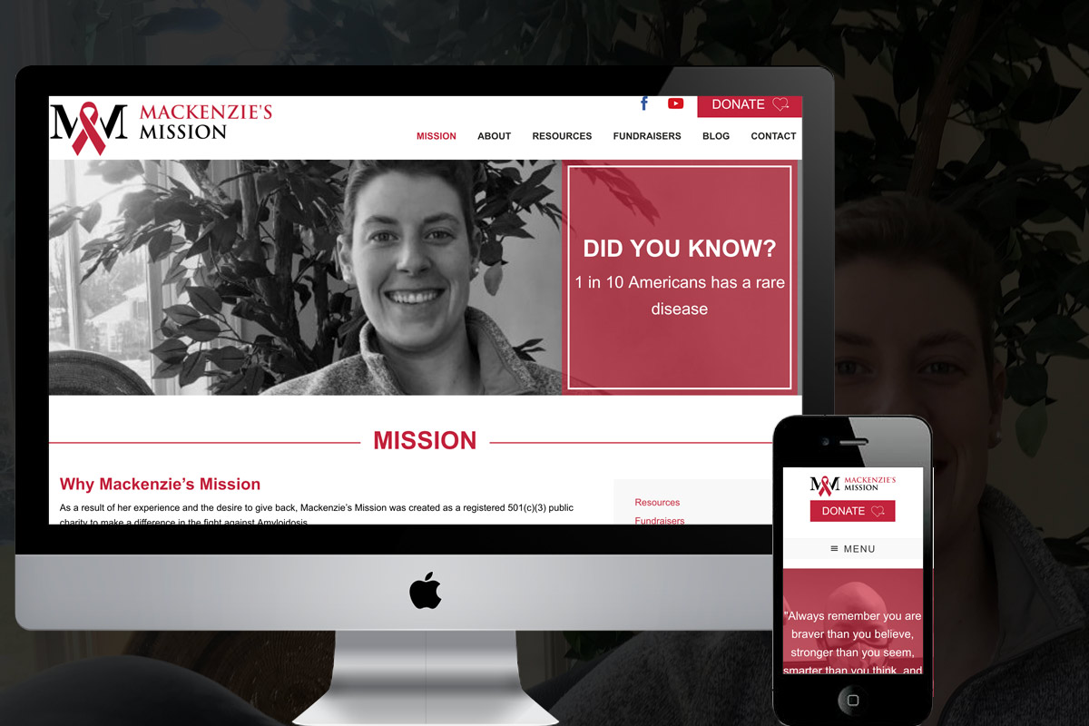 Nonprofit Web Design Portfolio