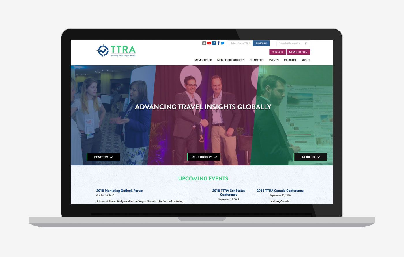 Nonprofit Wordpress Website Redevelopment for TTRA