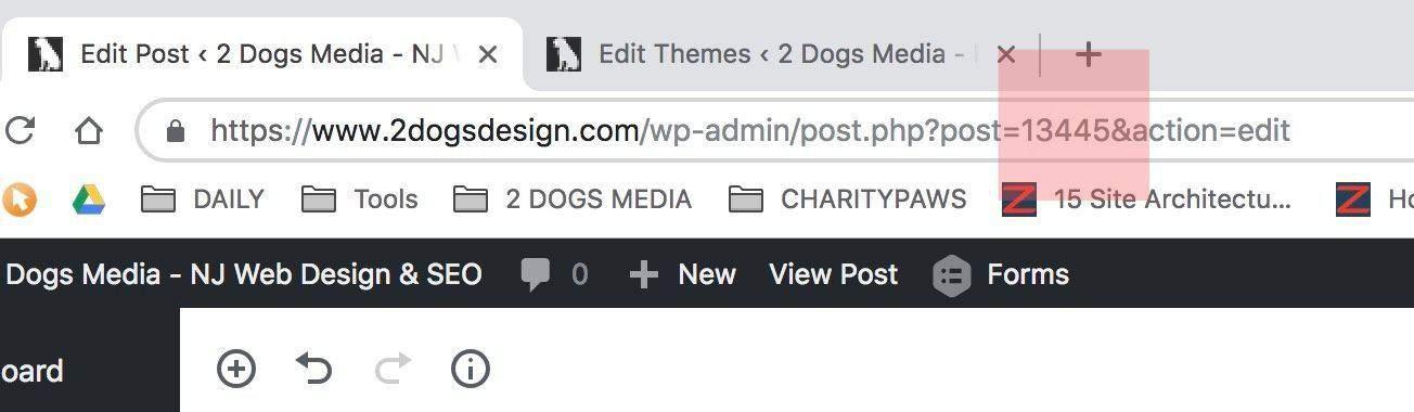 Post ID WordPress Post