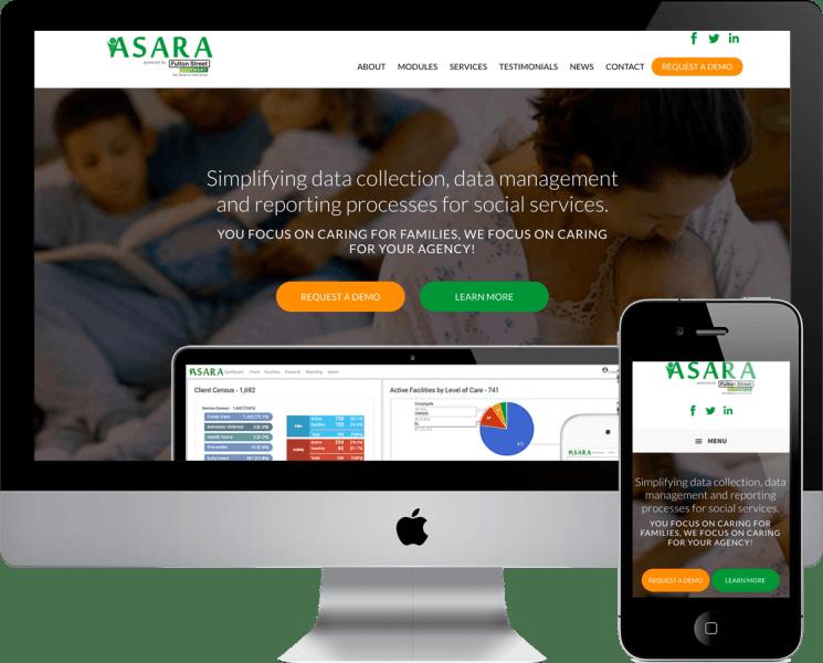 Wordpress Website Design for Asara