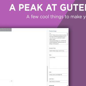 Overview of Gutenberg