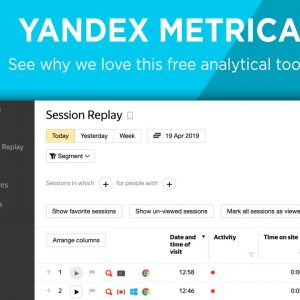 overview of yandex metrica