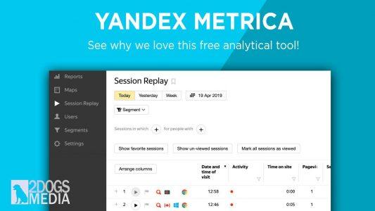 overview of yandex metrica
