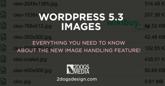 Wordpress Image Handling in 5.3