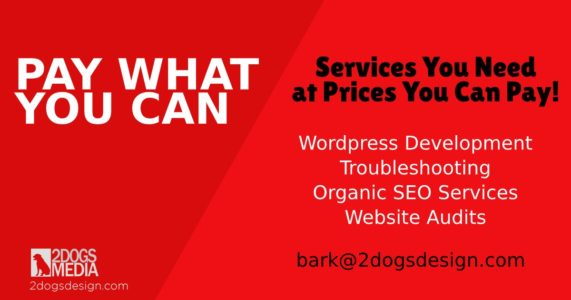 special wordpress & seo offer