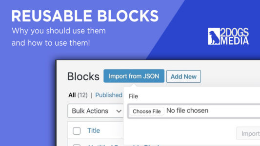 Reusable Blocks Tutorial
