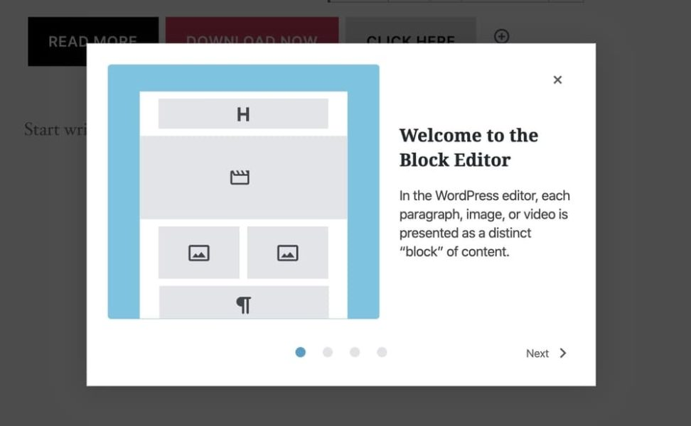 Wordpress 5.4 welcome guide