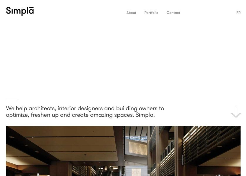 whitespace website example