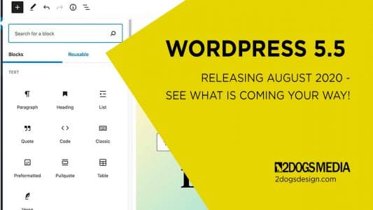 wordpress 5.5 roadmap
